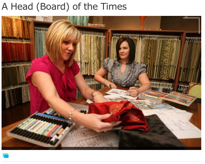 FOCUS ON THE BED: A Head (Board) of the Times